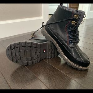 NEW Tommy Hilfiger Black Boots